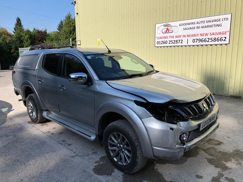MITSUBISHI L200 BARBARIAN DI-D AUTO ACCIDENT DAMAGED REPAIRABLE SALVAGE
